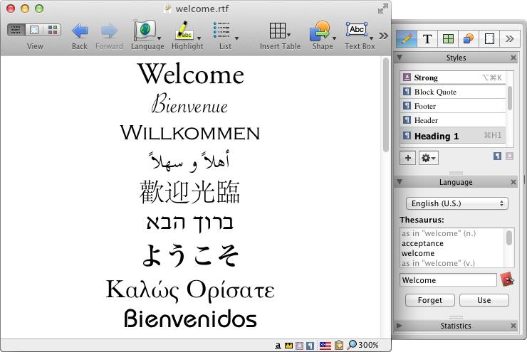Nisus Writer Pro Mac 破解版 多语言文字处理器-麦氪派(WaitsUn.com   爱情守望者)